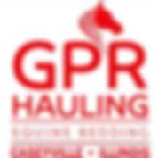 GPR Hauling Equine Bedding