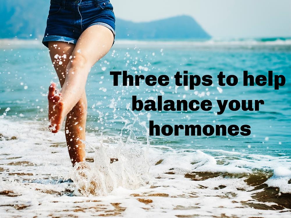 Tips to balance hormones