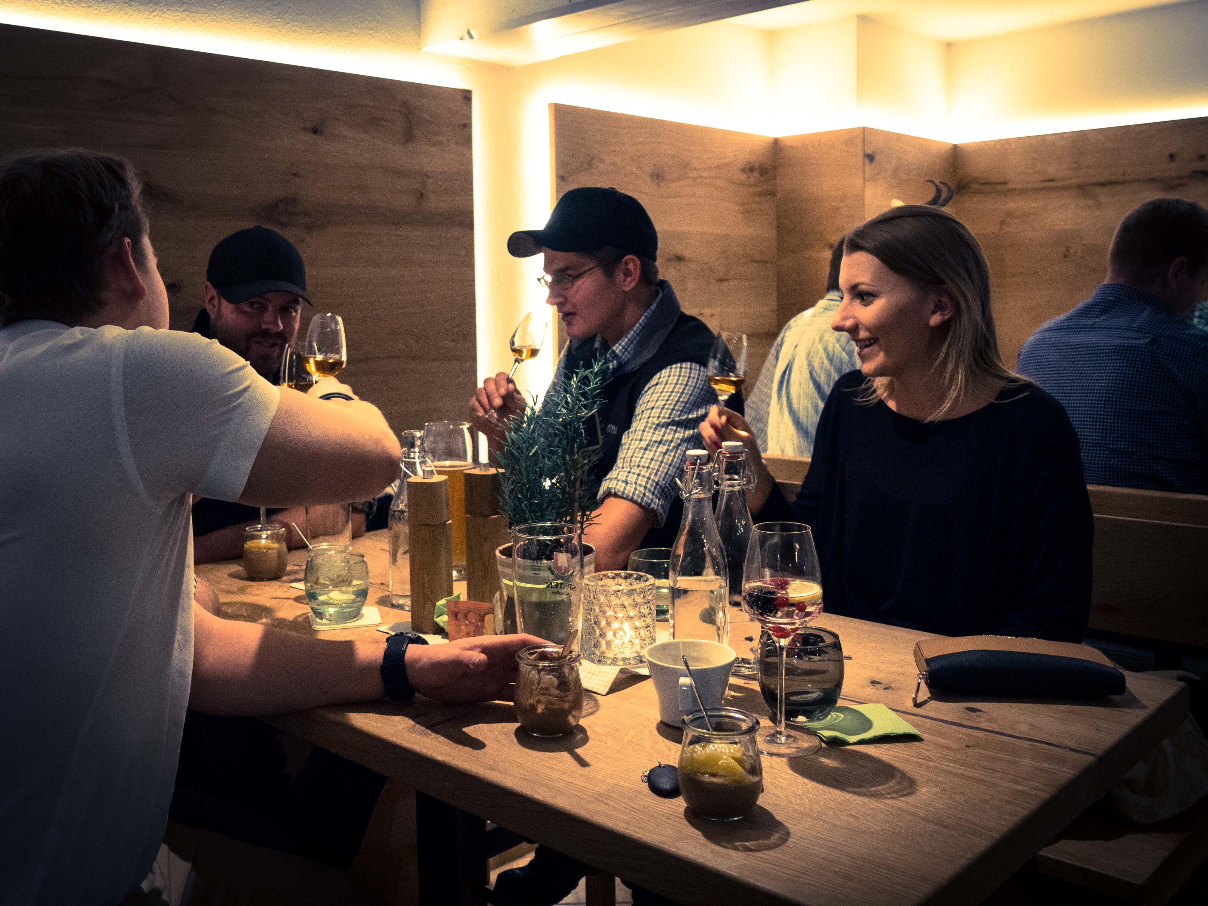 Gäste im JAEGERS am Brauneck