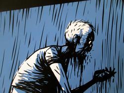 Zombie Screen Print