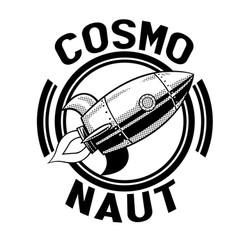 COSMO NAUT B&W
