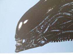 Alien Screen Print