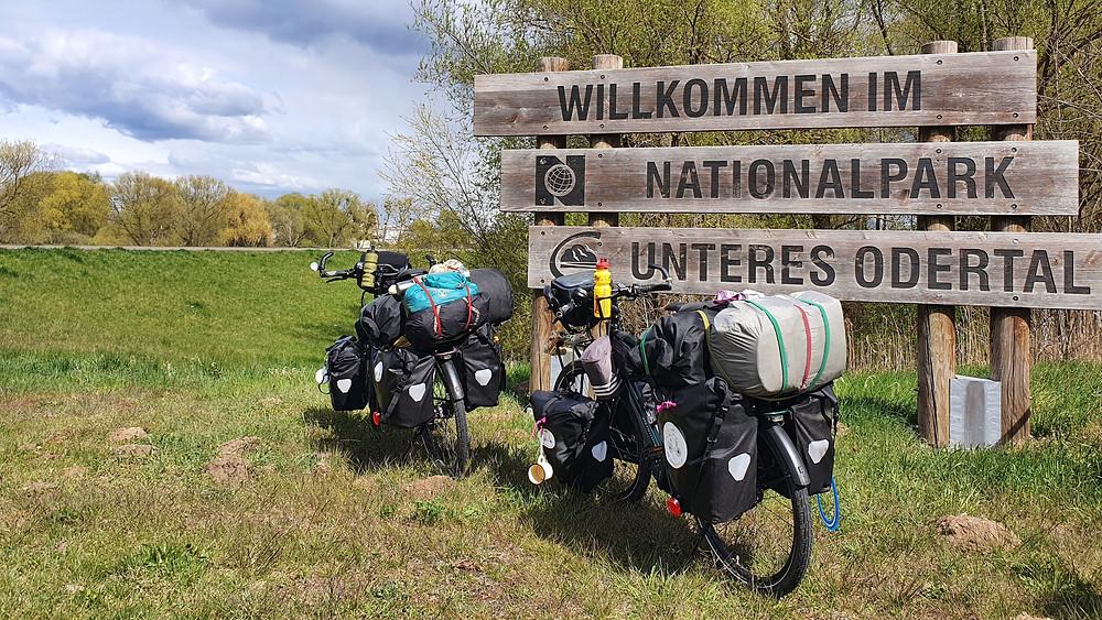 Nationalpark Unteres Odertal Oder-Neiße-Radweg knufbergstravel