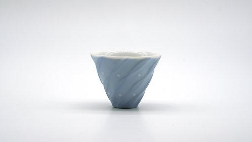Sake cup  水漾(藍)