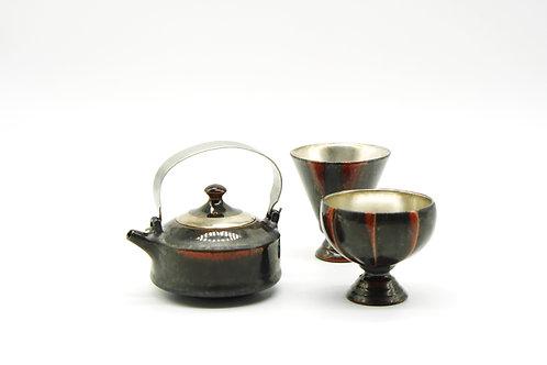 中村讓司 ・日本名家茶酒器二人優惠套裝