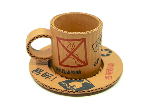 小心輕放 咖啡杯 Handle with Care Coffee Cup and Saucer
