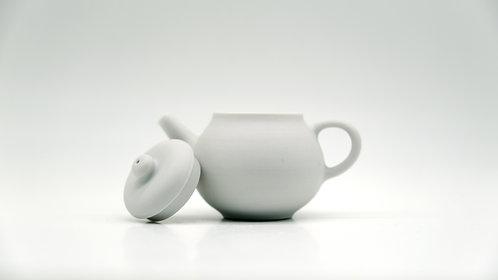 tea pot 純白茶壺
