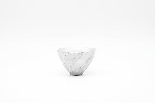 Tea Cup in Silver Glazing 銀色茶杯
