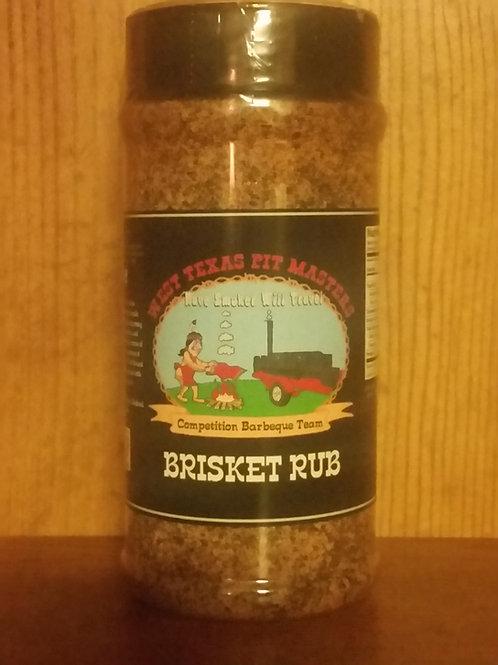 Brisket Rub 12oz Shaker