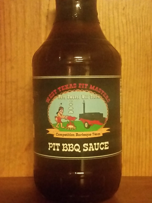 West Texas Pit Masters BBQ Sauce