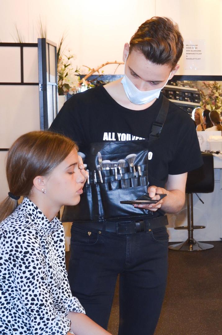make-up-workshop-moeder-dochter-rotterda