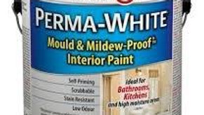 Zinsser Perma-White satin mould mildew proof bathroom and kitchen