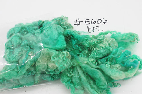 Hand Dyed Bluefaced Leicester Locks #5606