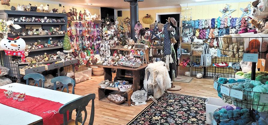 Southern Oregon Wool Yarn Felting Store