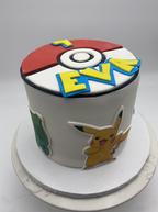 Pokemon Custom Childrens Cake