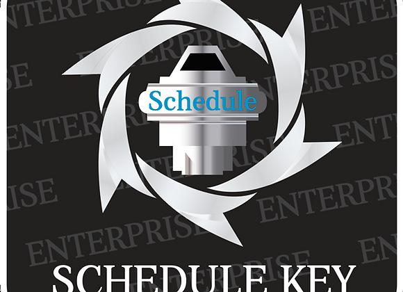 Enterprise Schedule Key SI Package