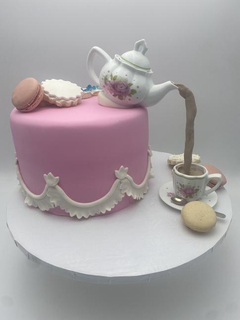 Tea Pot Childrens Custom Cake