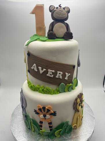 Animal Custom Childrens Cake