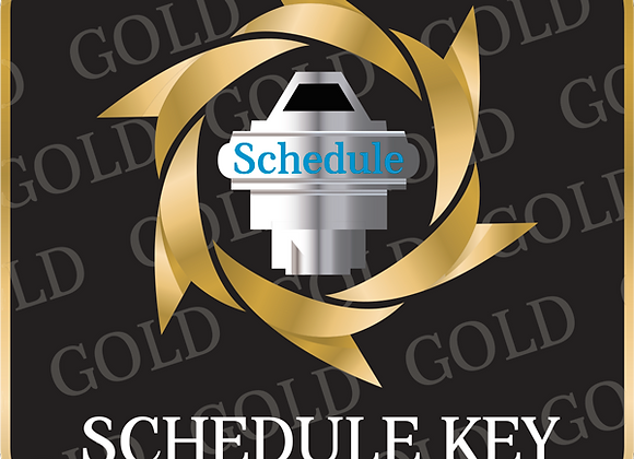 Gold Schedule Key SI Package