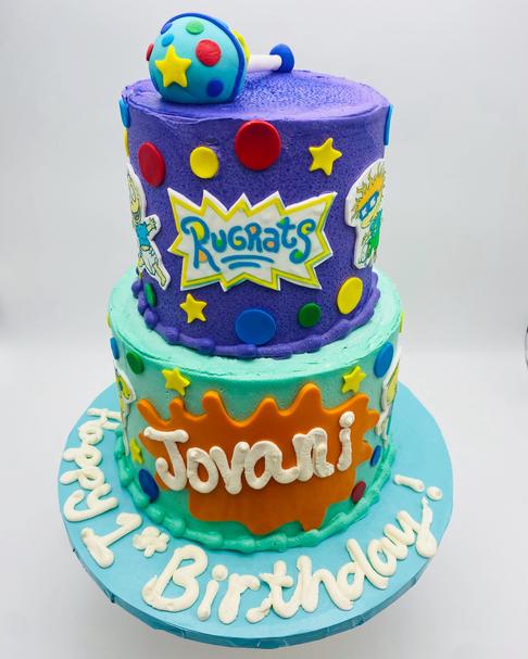 Rugrats Custom Childrens Cake