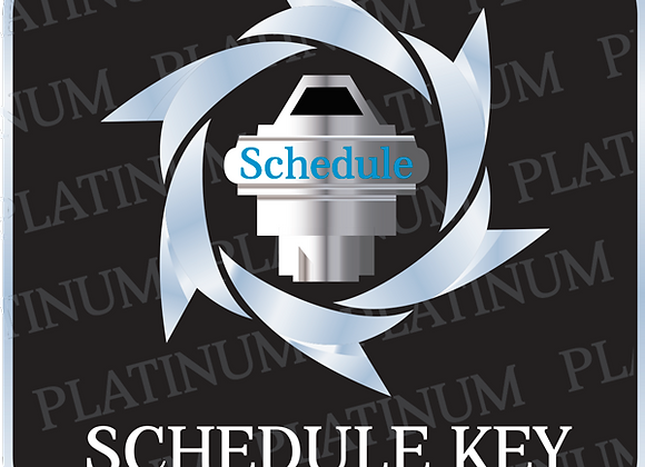 Platinum Schedule Key SI Package
