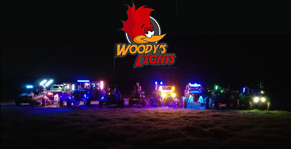Woody's Lights made in the USA