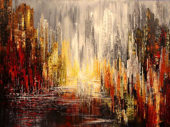 """acrylic on canvas, 36"""" x 48"""""""