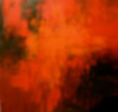 Life on Fire original large red abstract painting by Tatiana iliina for sale