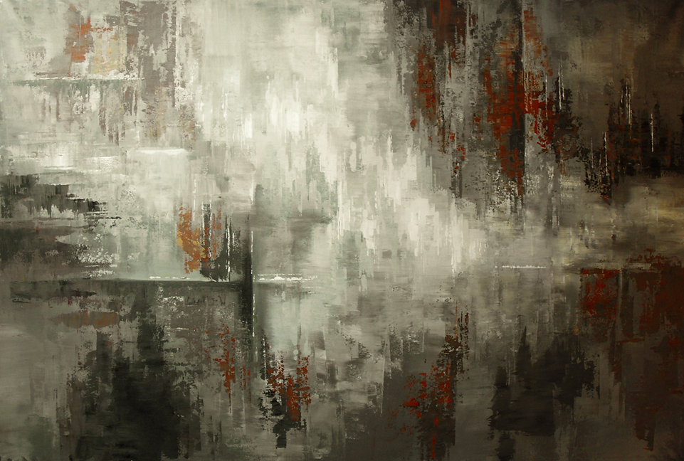 large abstract painting for sale by Tatiana Iliina