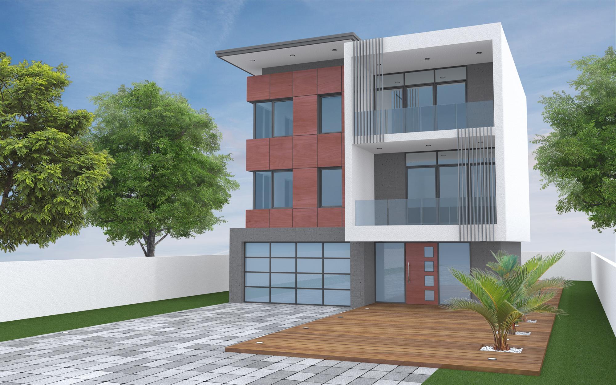 modern multi unit two story 1