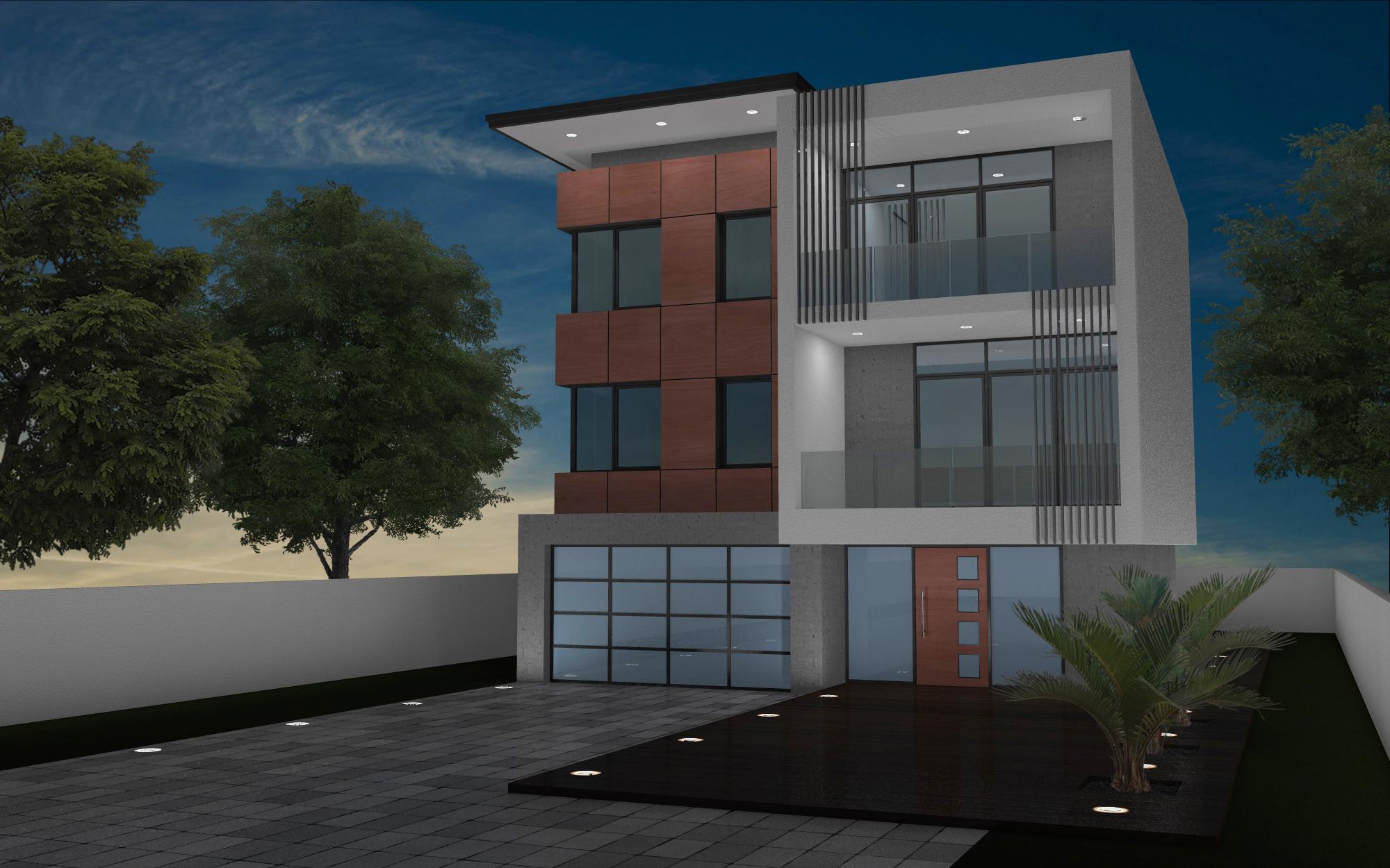 modern multi unit two story 2