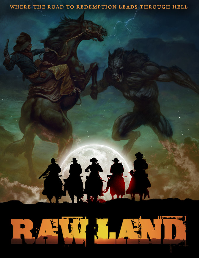 """Raw Land,"" Has been officially optioned and is being marketed at Cannes Film Market 2017."