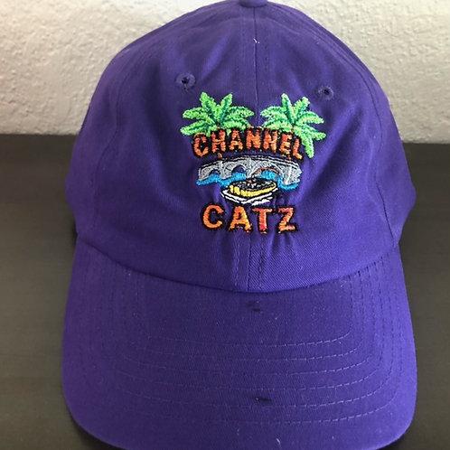 Athletic Ball Cap = Purple