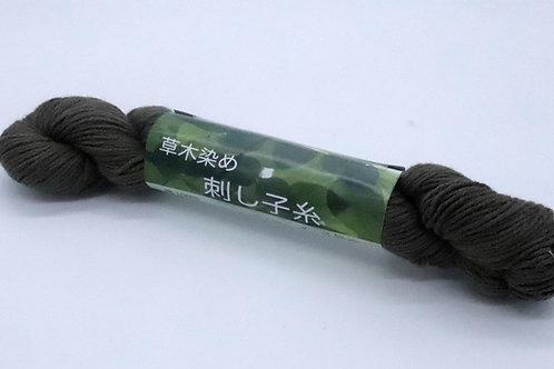 草木染め刺し子糸06