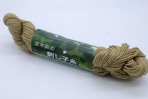 草木染め刺し子糸08