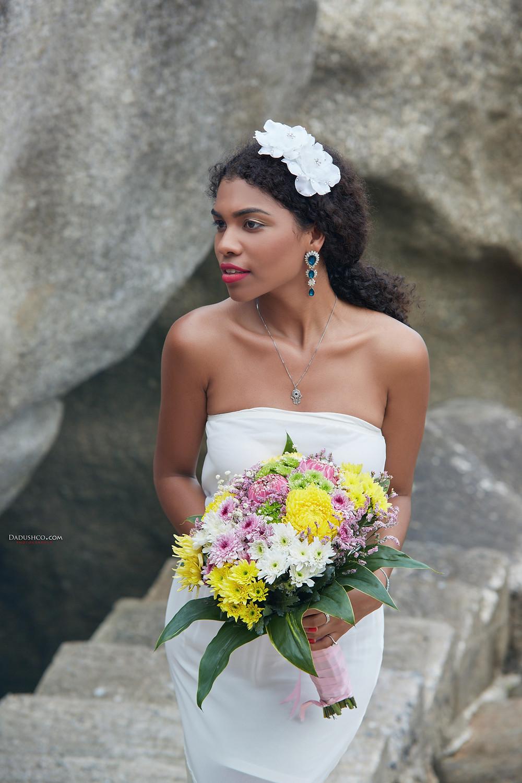 Букет невесты в Тайланде на Самуи