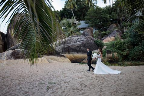 Свадьба на Самуи в Тайланде