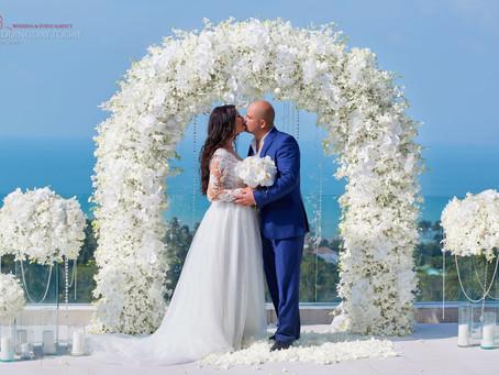 Свадьба на вилле в Тайланде о. Самуи