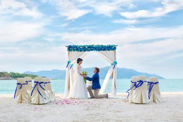 Свадебная церемония в Таиланде на острове Самуи