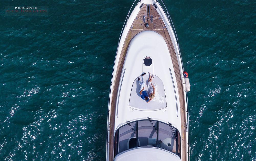 Прогулка на яхте в Таиланде остров Самуи