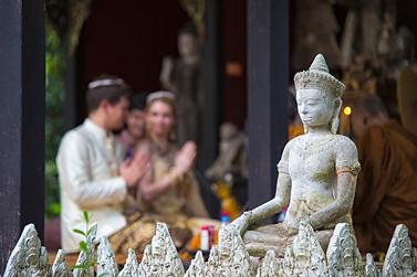 Буддийская церемония в Тайланде