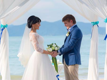 Свадьба в Тайланде на о. Самуи для Галины и Константина