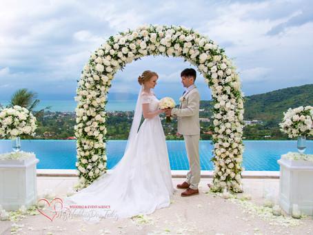 Свадьба в Таиланде остров Самуи. Алексей и Александра.
