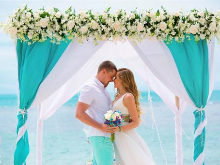 Свадебная церемония на пляже для Анны и Николая