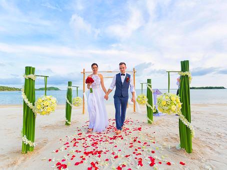 Свадебная церемония на Самуи для Александраса и Асты