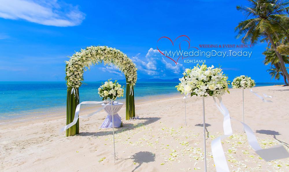 Свадебная церемония в Таиланде