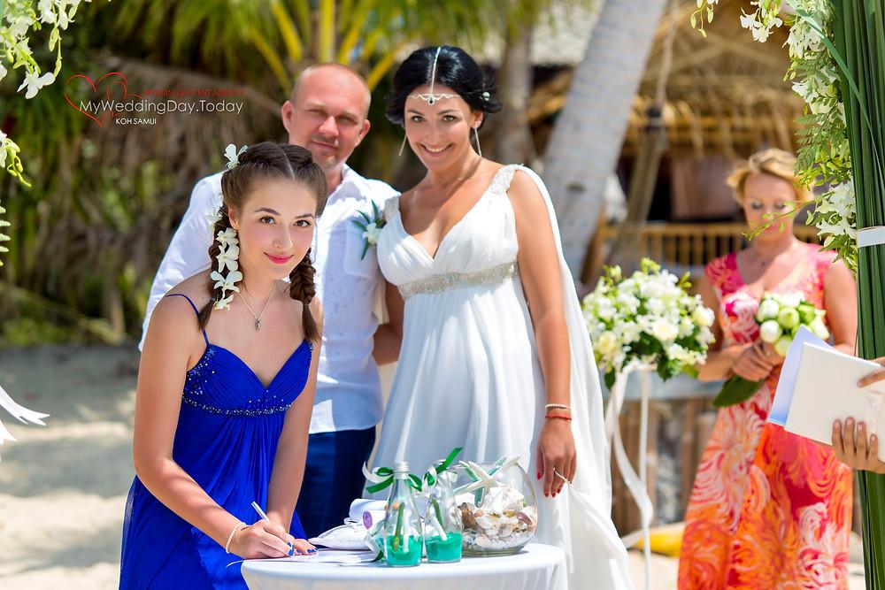 Свадебная фотосессия на Самуи