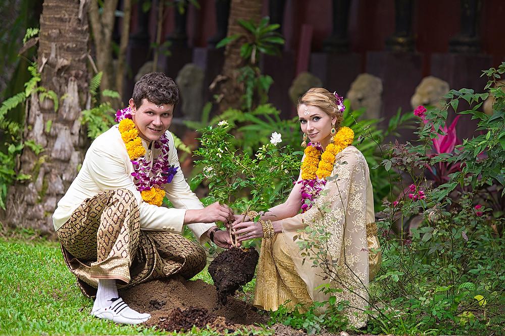 Свадебная церемония в Тайланде, о. Самуи