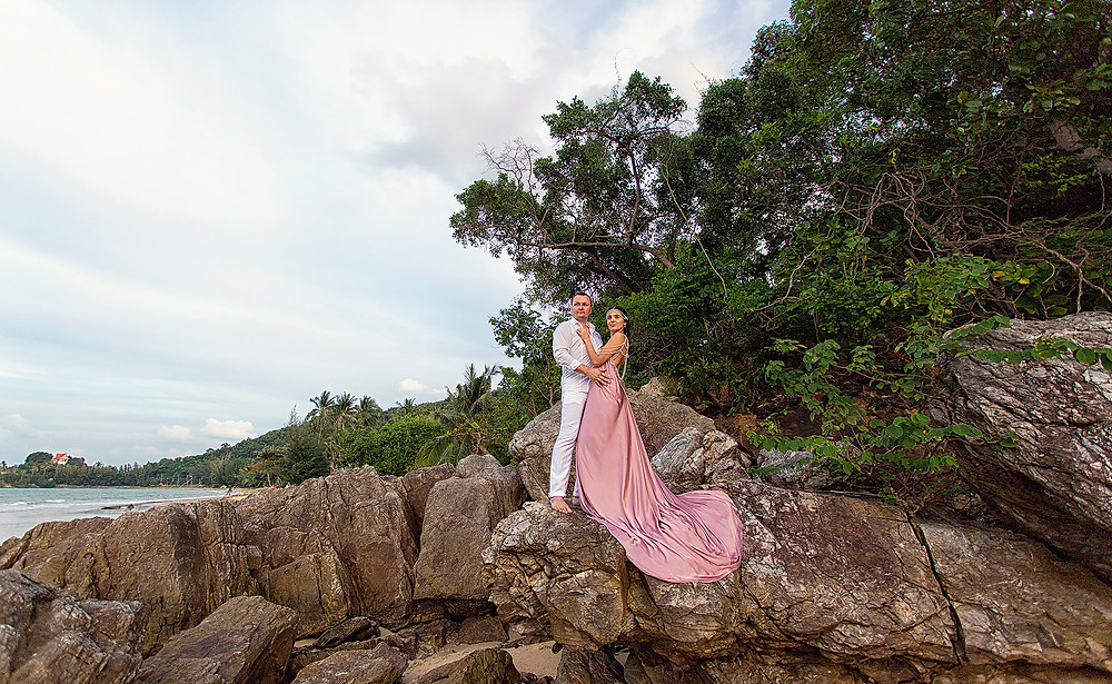 Свадебная фотосессия на Самуи , Таиланд