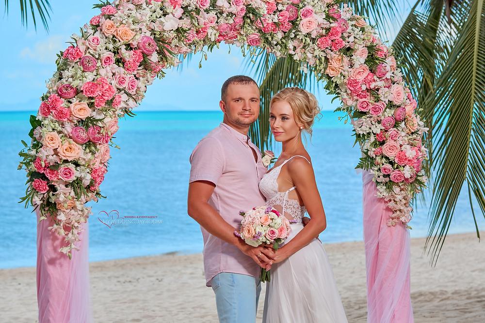 Свадьба в Таиланде на Самуи
